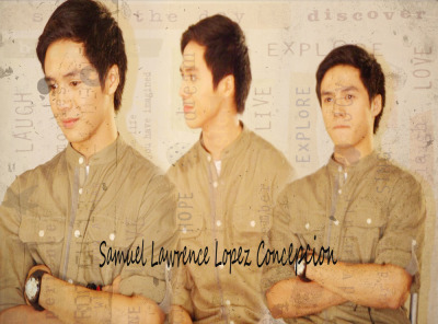 @sam_concepcion Samuel Lawrence Lopez Concepcion is <3