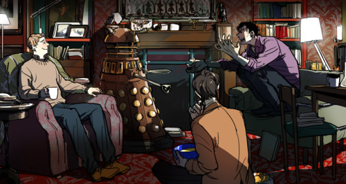 oooyooo:  -Sherlock arguing with a Dalek? Could anybody write some story for this?