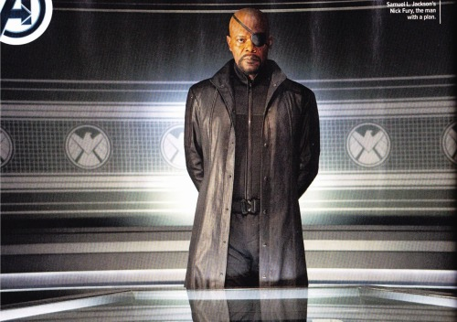 aspiringhypocrite:  New Image of Nick Fury, played by Samuel Mother-Fucking Jackson.