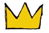 Basquiat  Jean-Michel Basquiat  Basquiat crownJean Michel Basquiat Crown