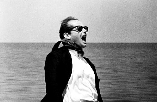 """With my sunglasses on, I'm Jack Nicholson. Without them, I'm fat and 60"". -JN"