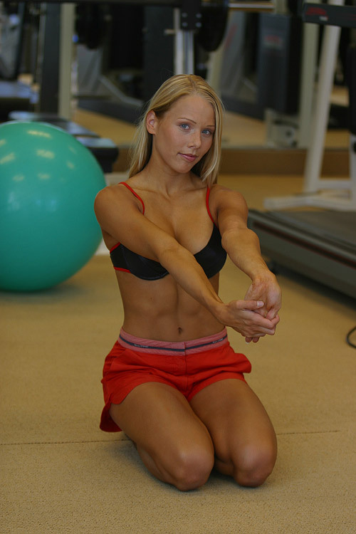 She works out harder than you think.