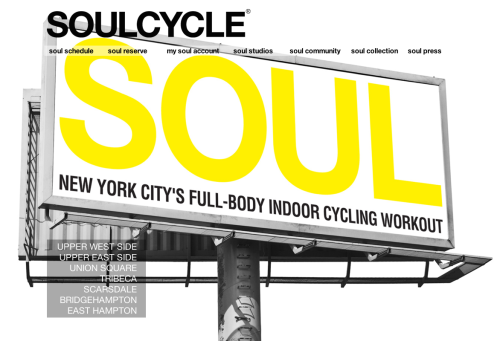 MOTIVATION: SOULcycle comes to LA! (via SoulCycle) SOULCYCLE IS COMING TO LOS ANGELES (we are freaking out excited!!!) Our West Hollywood Studio will officially open on February 10th at 8570 Sunset Blvd, but while we are putting the finishing touches on our first Cali studio, you can tell them to come visit us at our SOULCYCLE LIFESTYLE SHOP right next door! Today through February 9th, from 8AM-8PM, riders can meet Soul Staff, shop for Soul gear, listen to instructor playlists, receive bike demos, and sign-up for their first class FREE. Let's begin building our west coast community and get this Soul party started!