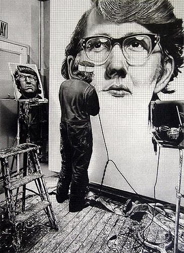 Dan Fischer, Chuck Close, 2003