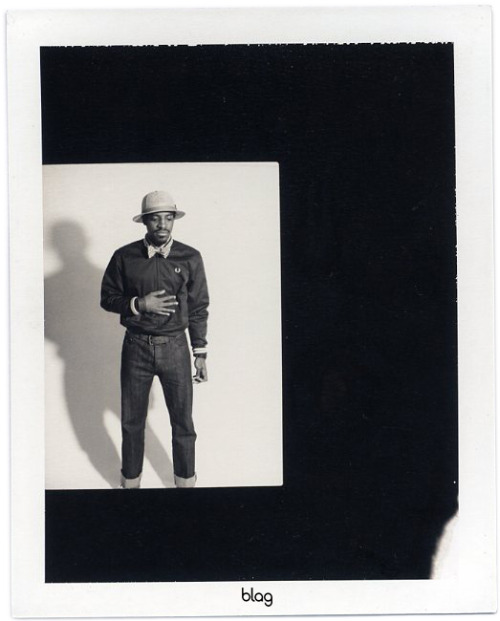 2006 | BLAG Vol.2 Nø 6 OutKast cover shoot polaroids Photography by Sarah