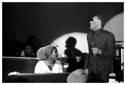 Aretha Franklin + Ray Charles