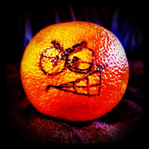 Let's go 'Cuse! Otto's angry! Join us in NYC tonight at 7pm for Orange basketball! Details on Twitter & our Facebook event page! (Taken with Instagram at New York City)