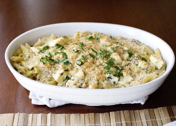 Dressed-Up Penne and Blue Cheese (via Dressed-Up Penne and Blue Cheese « 30 Days 30 Ways with Macaroni & Cheese)
