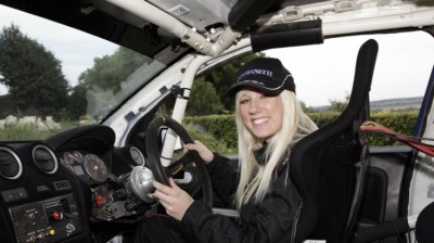 British Rally Car Driver Louise Cook in her first event in the World Rally Championship 2012 season (and first drive in the WRC for her ever) finished 54th overall in the prestigious Monte Carlo rally held this weekend, but that was still good enough for a 2nd place podium finish in the Production WRC Class category she was driving in.
