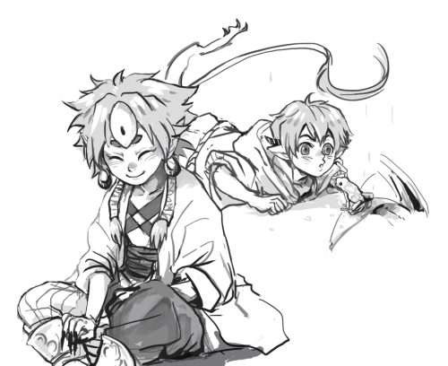 sosour:  these are from last pchat with kukico but i couldn't finished it then because of bad net. they are gisu's kip and zooque's denby. or suppose to be at least (ノдヽ)   OH MY GOODNESSS AAAAAAAAAHHHHHH SORRY FOR THE LATE? REPLY AAH THANK YOU SO MUCH OMg KIP LOOKS FREAKING ADOOOOOORABLE i am not joking holy smokes!!! i really love the way that you drew him and ugh your coloring and style is just so aesthetically pleasing aaaaa im slapping at myself because i'm so overjoyed and LKDFLKSJS wow kip is really popular u////u thank you so much!!!