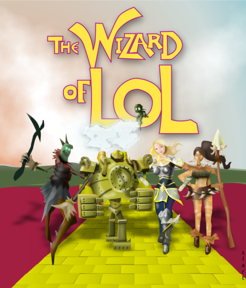 pik-achu92:  The Wizard of LoL~ by slart