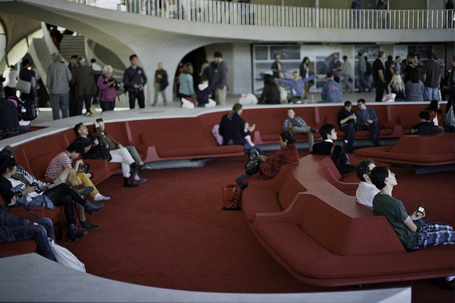 Lounge. TWA Terminal Tour. Analog Airports.