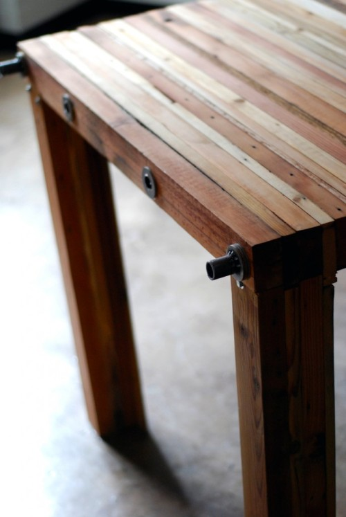 parsons table | reclaimed wood ~ brett wagner