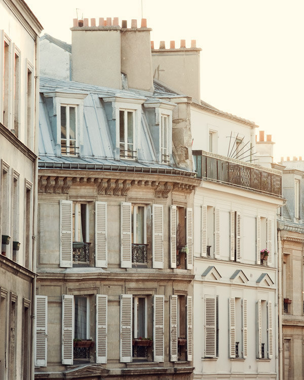 athimblefulofbeauty:  Pale Paris Morning photograph on Etsy
