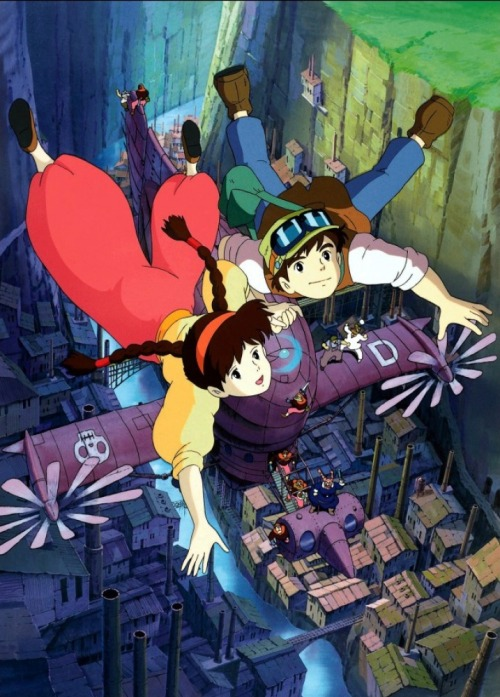 houseofghibli:  Laputa: Castle in the Sky.