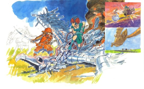 houseofghibli:  Nausicaa of the Valley of the Wind.