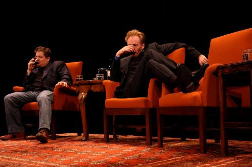 Courting Sketchfest: Patton Oswalt and Conan O'Brien by Jakub Mosur