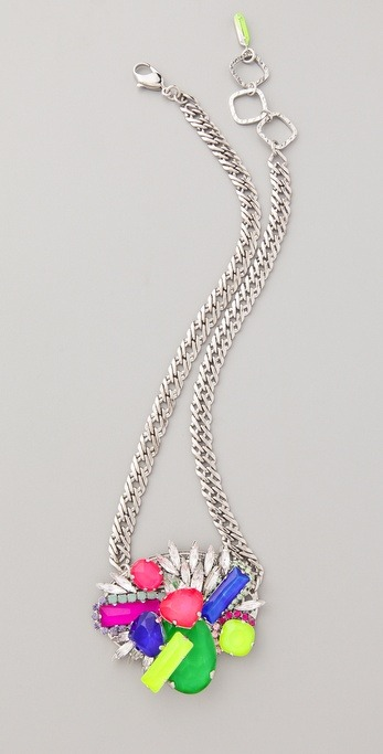 Color Me Crazy necklace by Erickson Beamon
