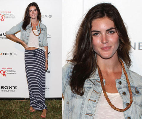 My favorite trend for spring is the maxi skirt. I love model Hilary Rhoda's look of pairing the maxi skirt with a crop top and a denim jacket. It is such an easy to look to replicate while also being very comfortable and chic. If you are like me and it is still winter weather where you live try pairing a maxi skirt with a cute top and leather jacket or a cardigan/sweater. The maxi skirt is perfect to wear in winter and transition right into spring so stock up now! Some websites that have an array of skirts to choose from are lulus.com, nastygal.com, and necessaryclothing.com. Happy shopping!