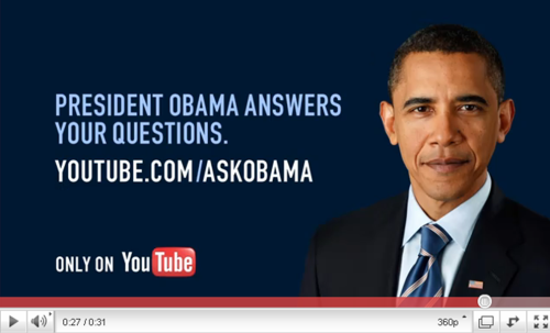 "wespeakfortheearth:   With elections coming up, Obama is starting his campaign strategies, which include (finally) answering all those whitehouse.gov petitions (though I'm uncertain whether those pat, politic, uncommitted and nebulous replies deserve to be called ""answers""), some good news announcements for things like the XL Pipeline (am I supposed to say thanks for not ruining our environment just yet?), and gearing up for his State of the Union address. And, with all of this, his campaign is trying to reconnect him with a deeply distanced base and the American people in general. Anyways, one of the strategies used in all of these efforts is his ""talking"" to the American people, the idea that he's listening and responding. And I've been getting some emails from the White House (I'm on a few mailing lists), asking what I'd like to ask the President. In short, they're looking for more material, more gripes for the President to take care of - or make it seem like he's taking care of. So here's what I'm going to do, and what I think we all should be doing. Let's focus on one essential question, a question that Occupy and others have been talking about, a question which cuts to the core of so much corruption in politics: Mr. President, what are you going to do DOING to get money out of politics?  Let's make this our question, and the question for all the candidates. Let's spread the word to make this the defining question of the election - and just maybe we'll start to see some real, lasting change. P.s. 5 days left to submit this question to Obama's youtube 'interview'. Come on Tumblr, let's make a dent!"