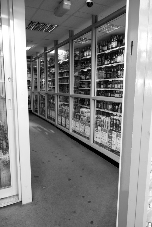 High security off licence. Sheffield, 14/01/2012.