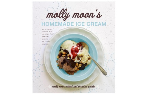 Cover to the upcoming cookbook by Molly Moon's Ice Cream, featuring images by Kathryn Barnard. Pre order your copy today!