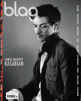 2006 - 2007 | BLAG Vol.2 Nø 7 James McAvoy cover Photography by Sarah