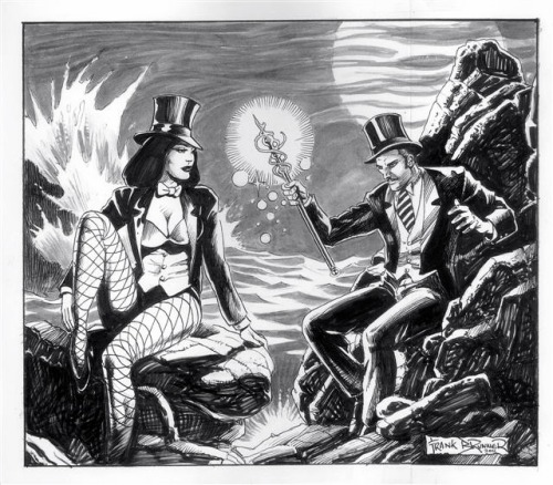Zatanna & Zatara star in The Tempest by Frank Brunner  Magic Monday