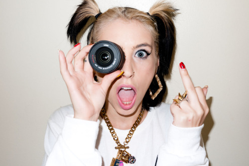 terrysdiary:  Kreayshawn at my studio #3