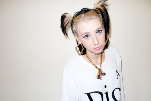 Kreayshawn at my studio #11