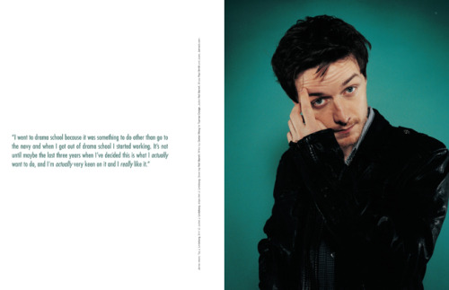2006 - 2007 | BLAG Vol.2 Nø 7 James McAvoy cover feature Interview by Sally Photography by Sarah