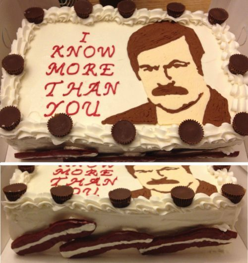 Look at this BAMF cake.