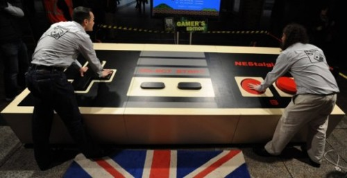 World's Largest Video Game (NES) Controller