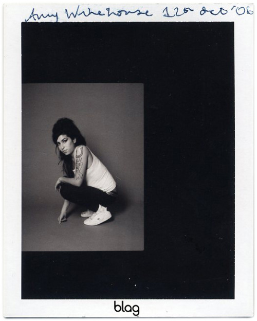 2006 - 2007 | BLAG Vol.2 Nø 7 Amy Winehouse shoot polaroids Photography by Sarah
