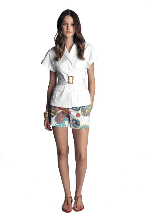 Here's a Cali-tastic look from the Trina Turk for Banana Republic collection, launching in June. Photo: Courtesy of Banana Republic