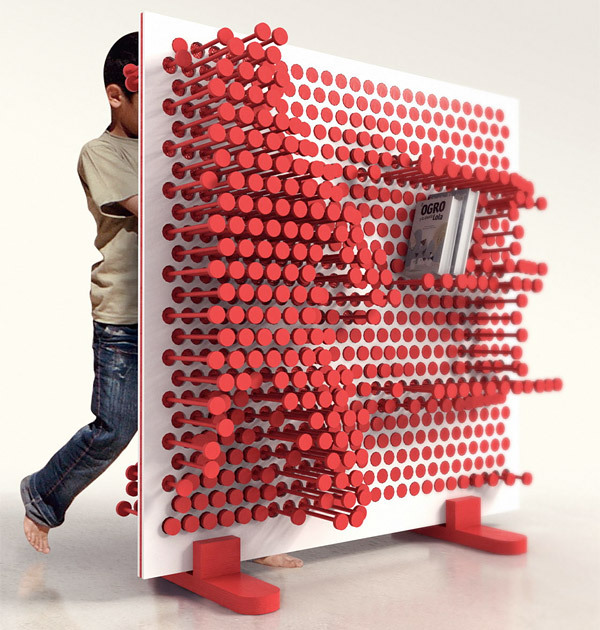 helloyoucreatives:  The adaptable book case. By http://www.ooomydesign.com/  — i had that concept in sustainability.. prof didn't think it would work.. i didn't mind since i had another concept i wanted to work on anyway.. BUT, you should never stop/give up, just because someone thinks it can't be done.