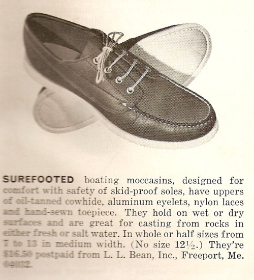 1968 LL Bean Bluchers X Boat Shoes