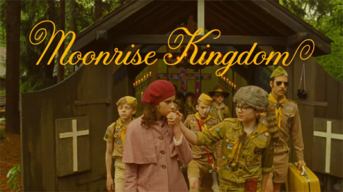Way too excited for Wes Andersons return, Moonrise Kingdom.