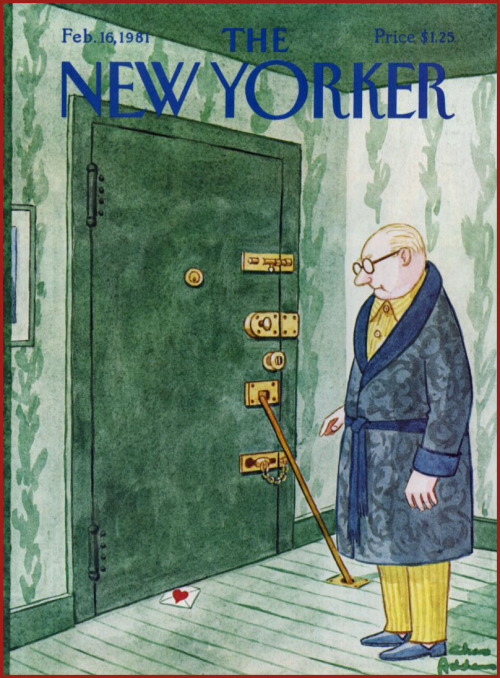 Charles Addams - New Yorker / Feb. 16, 1981 [***]