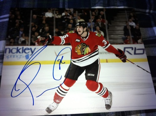 Dave Bolland Signed 8x10 In Person  $15