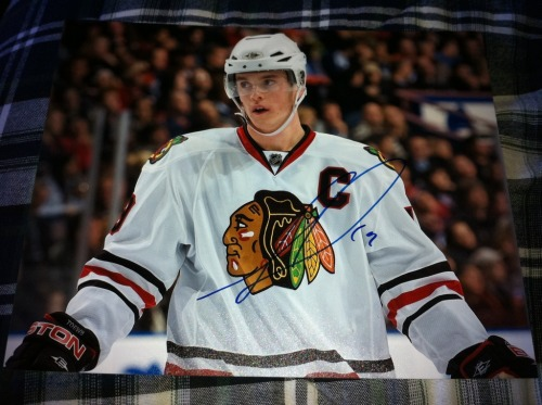 Signed Jonathan Toews 8x10 In Person  $50