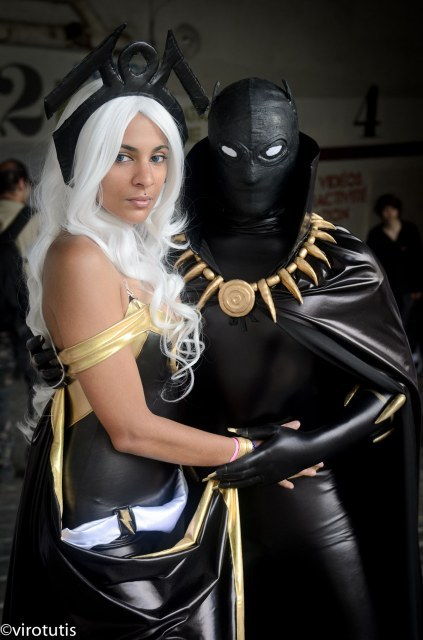 ealperin:  bkspidey:  shades313:  Blk Panther and storm…. #cosplay   That's freakin' awesome.  ^FLAWLESS PERFECTION.^     Good LORD.  speechless!