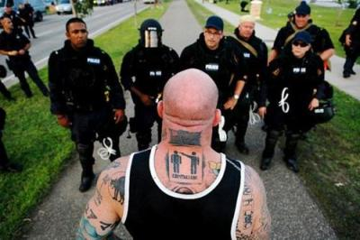 professional MMA fighter and anarchist jeff monson