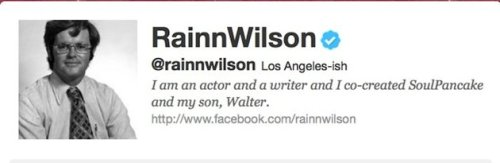 "yahoonews:  ""The Office"" actor Rainn Wilson has finally come to terms with the fact that he looks like Newt Gingrich. We have all the details for you at The Ticket.  We'd like to think we played a role in this."