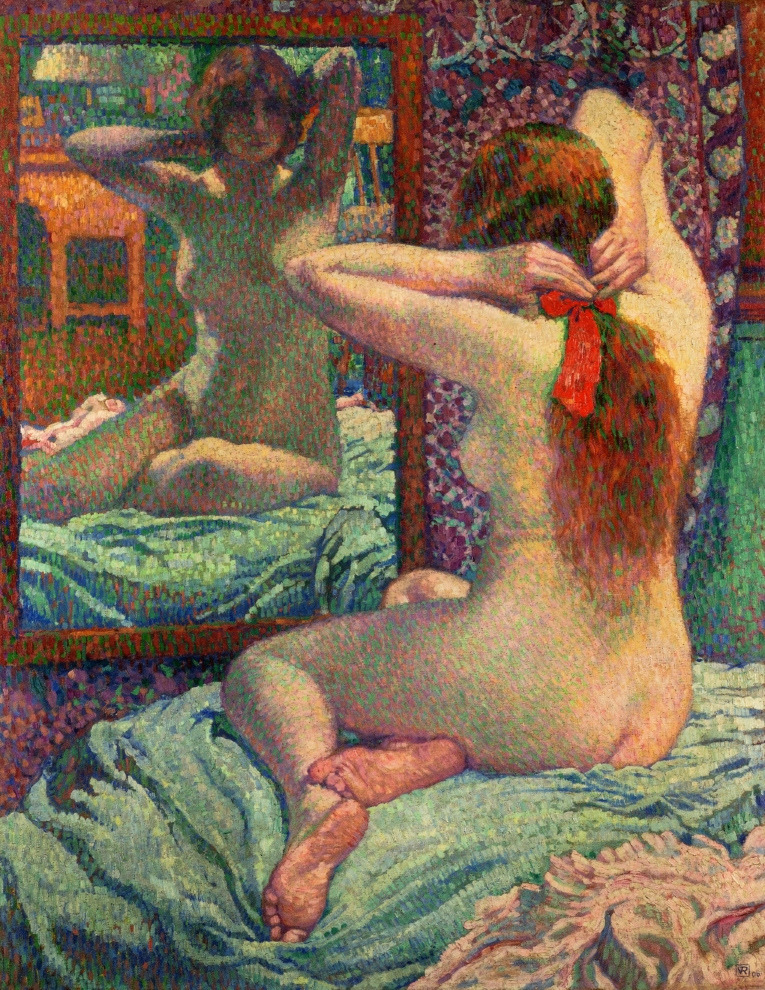 Théo van Rysselberghe, The red knot (1906)