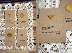 littlecraziness:  (via oh, hello friend: you are loved.: hello diy / shapes business card:)