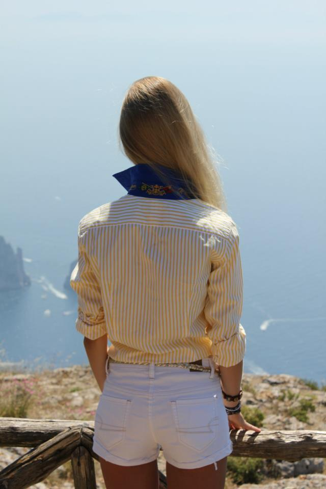 Me in Capri!