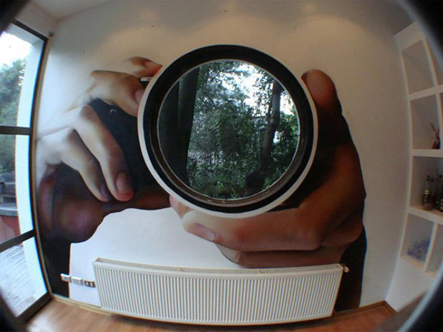 Creative Camera Lens Window Design
