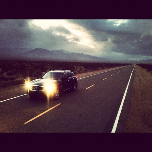 Today's office. Ivanpah Road. (Taken with instagram)