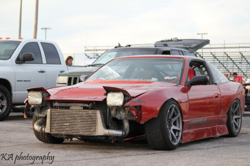 Steve Angerman's car just chillin after a day full of drifting!